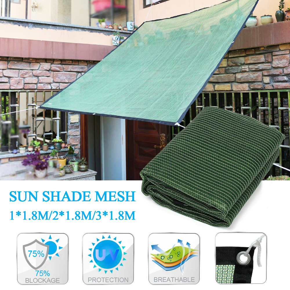 3/2/1Mx1.8M Universal UV Block Sun Shade Sail Fabric