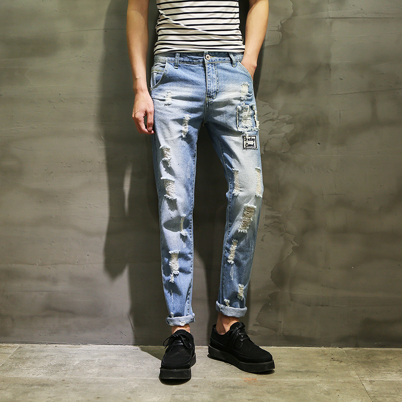 Aliexpress.com : Buy New Brand Clothing Mens Skinny Jeans ...