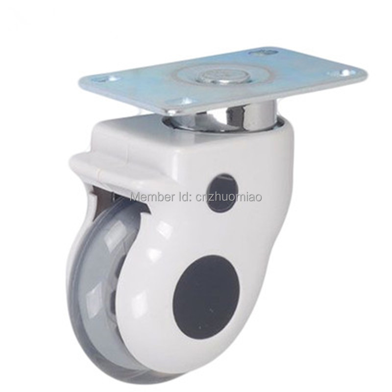 4 pcs 3 inch swivel with solid stem hospital bed casters medical caster wheels in Casters from Home Improvement
