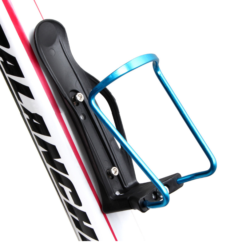 1x Sport Cycling Drink Water Bottle Holder Aluminum Alloy Bike Bicycle Rack Cage