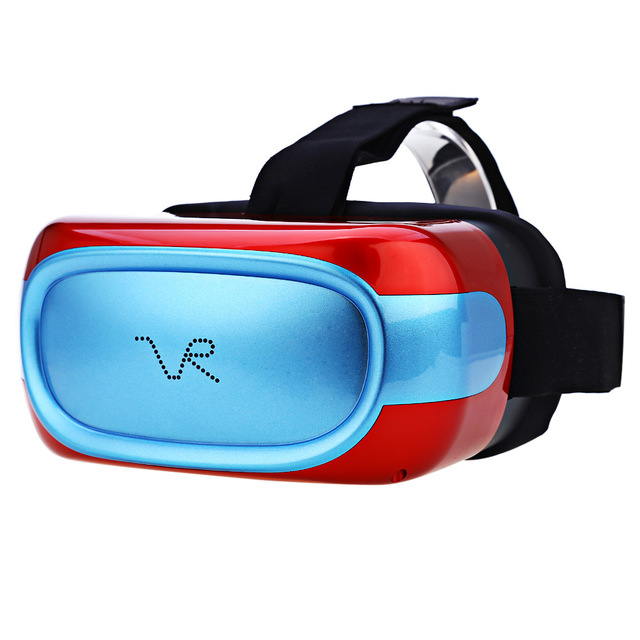 Newest HD 720P Immerse Virtual Reality Headset 3D Glass with Earphone All-in-One VR Glasses Andriod 5.1 Quad Core 1G RAM 8G ROM