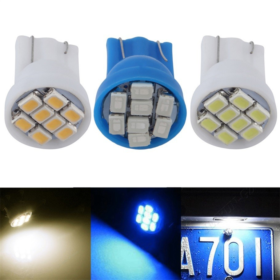 1pc T10 194 2825 W5W 8smd Car led marker light Dome Lamp read License Plate door Auto Clearance Lights bulbs car styling 12V 1pc t10 w5w clearance lights car door lights reading lamp led bulbs license plate lamp car styling signal lights for cars dc 12v
