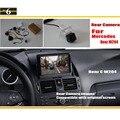 Conjuntos de Câmera de Visão Traseira do carro Para Mercedes Benz Classe C W204 2007 ~ 2014/Back Up Câmera Reversa/RCA & Tela Original