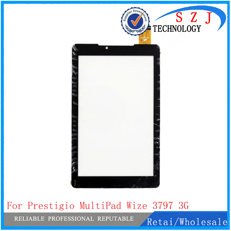 New 7 case for Prestigio MultiPad Wize 3797 PMT3787 3G PMT3797 Touch Screen Panel digitizer Sensor Replacement FreeShip 10pcs witblue new touch screen for prestigio multipad wize 3331 3g pmt3331 tablet touch panel digitizer glass sensor replacement free