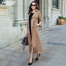 Brand Design Fashion Trench Coat Female 2019 New Spring