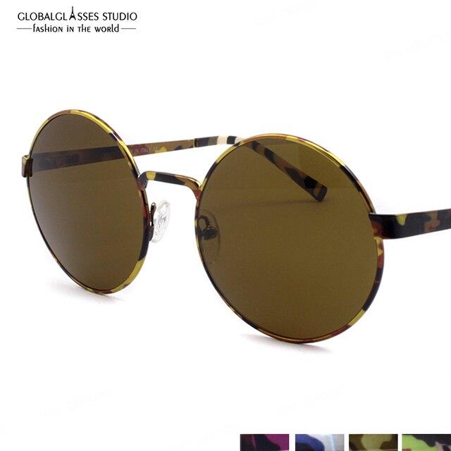 8a3cc70f8e45cf Gratis Verzending Nieuwe Speciale Ontwerp Camouflage Kleur Hoge Kwaliteit  Klassieke UV400 Eyewear Zonnebril Bril 604 m