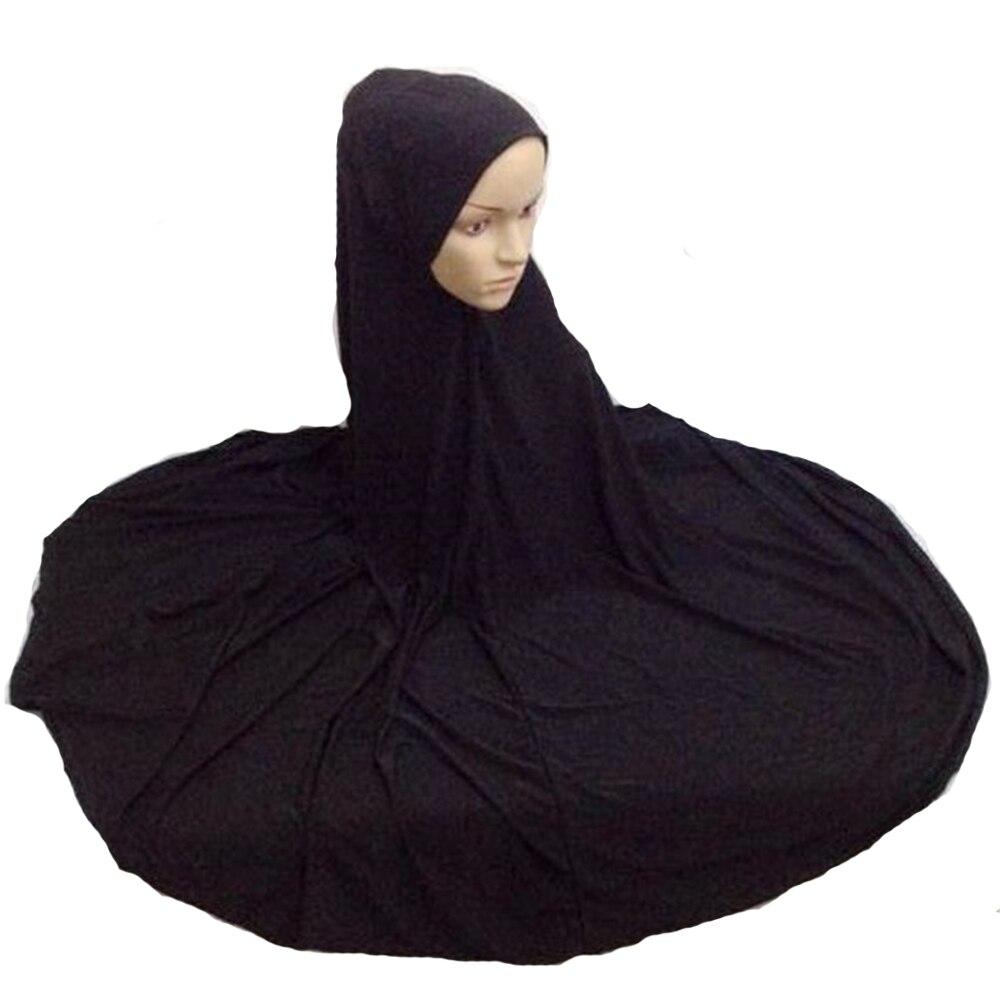 Femmes musulmanes en mousseline de soie foulard islamique voile Coiffe Hijab Wrap Châles Abaya hat NEW