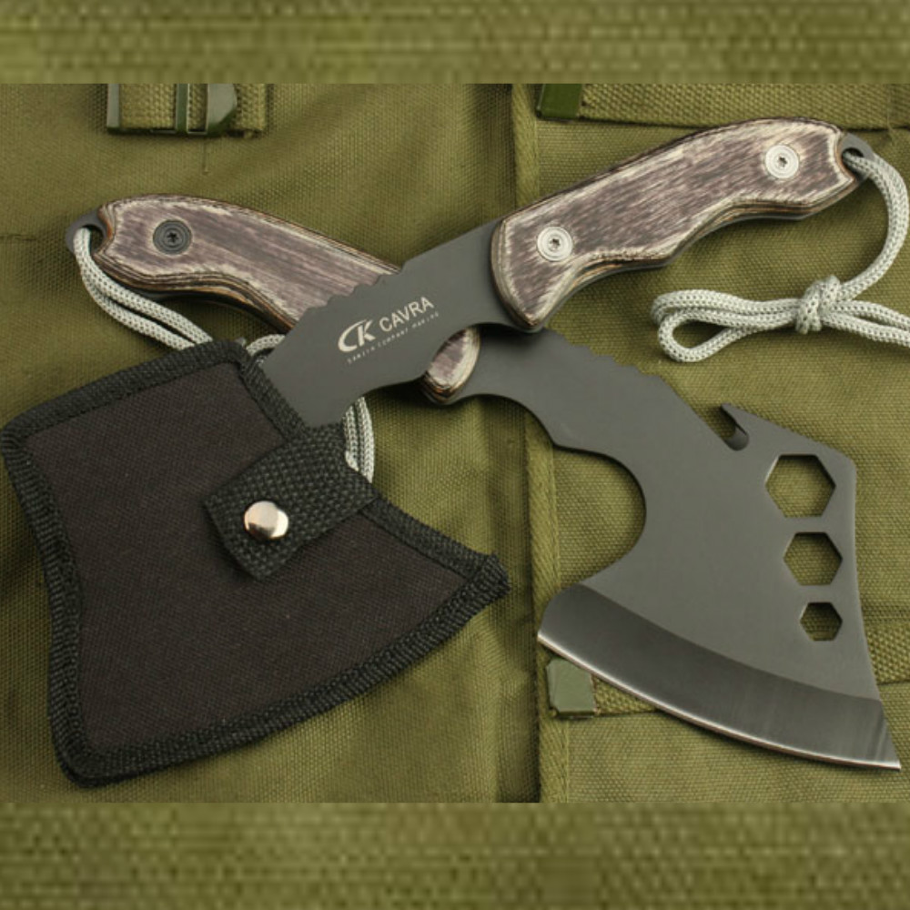 2017 Multifunctionele Survival Outdoor Camping Axe Hunting Hatchet - Handgereedschap - Foto 2