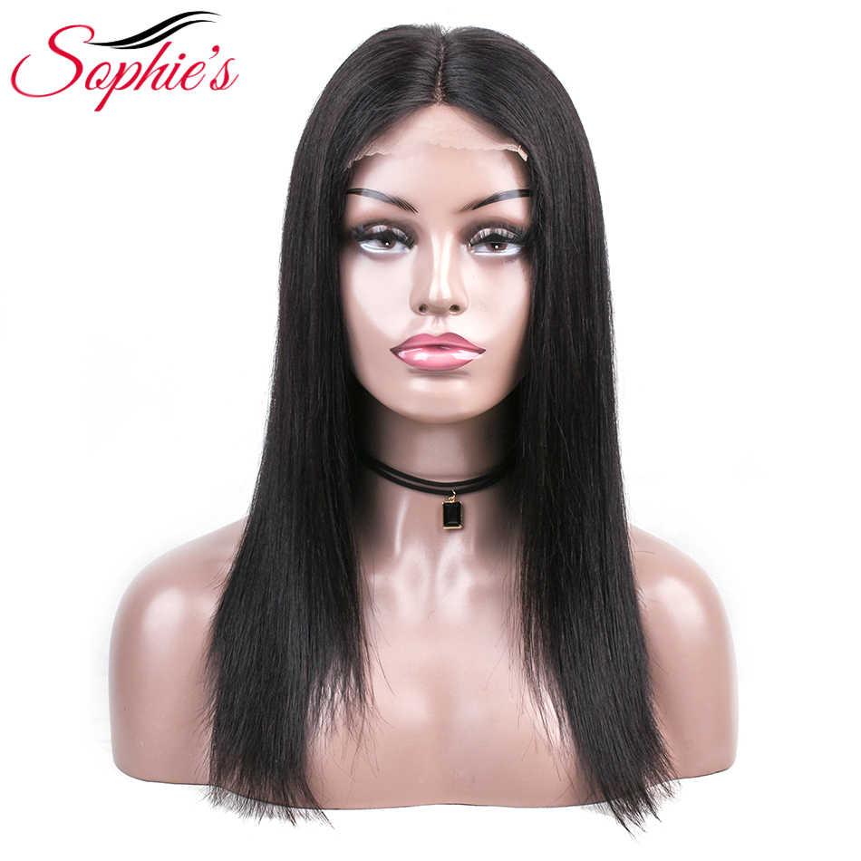 Парики из натуральных волос на кружеве Sophie, бразильские волосы remy, длинный парик, предварительно выщипанные волосы, парик для черных женщин, 180% Плотность