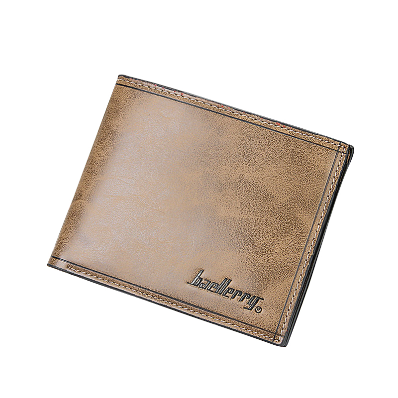 New Designer Short Purse With Card Holder PU Leather Male Money Purses Famous Brand Dollar Price Ultra Thin Male Money Bags dollar price new european and american ultra thin leather purse large zip clutch oil wax leather wallet portefeuille femme cuir