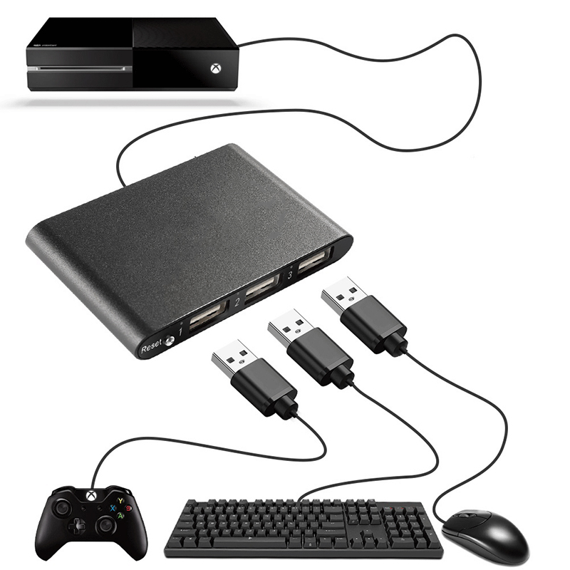 All kinds of cheap motor ps3 keyboard mouse adapter in All B