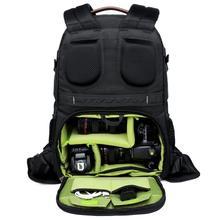 Duża pojemność torba na aparat fotograficzny Anti theft na zewnątrz podróży ramiona plecak dla Canon/Nikon/Sony statyw kamery obiektyw flash