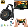 MiraScreen G11A Miracast Android TV Stick 2.4G/5G WiFi TV Display Dongle Ricevitore 4K DLNA Airplay media Streamer Adattatore Per IOS
