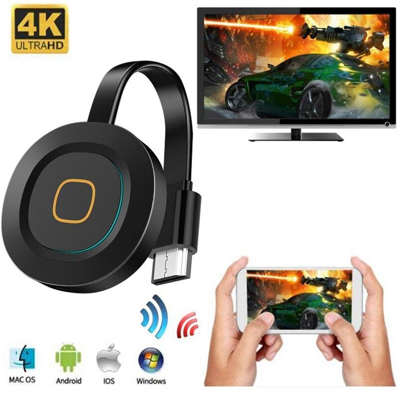 Mirascreen g11a miracast android tv vara 2.4g/5g wifi display tv dongle receptor 4 k dlna airplay mídia streamer adaptador para ios