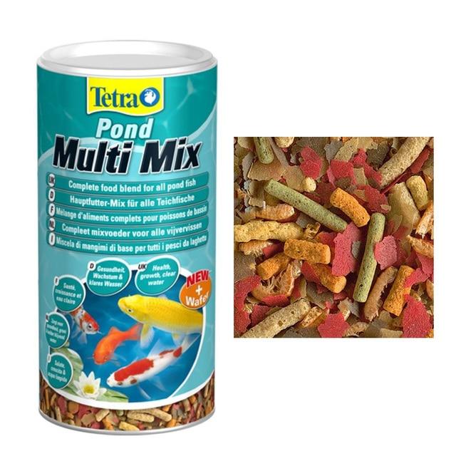 Tetra Pond Multi Mix Flakes Sticks Fish Food Japan Cryprinus Carpiod