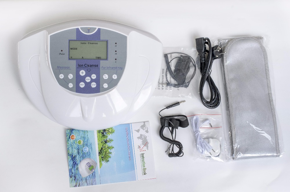White color ion detox foot spa machine / relax foot spa bath ion cleanse foot spas for sale