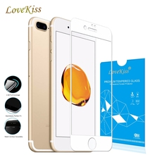 9 H полный изогнутый край полный охват для iphone 8 Plus X 6 6 S плюс 7 Plus 6 plus 5 5S SE закаленное Стекло Экран защитный Плёнки случае