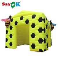 Sayok Bee Inflatable Tent Inflatable Cartoon Photo Booth ,Bee Inflatable Photo Booth for Event