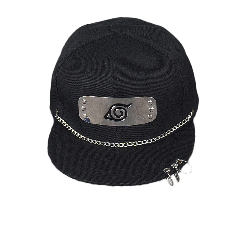 ceae01076 2019 Men Women Outdoor Fashion Sun Hat Anime Naruto Baseball Cap Konoha  Hidan Snapback Cotton Hats Sport Cosplay Hip-hop Black