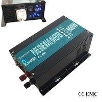 CE EMC Approved 800w Continuous 1600w Peak Off Grid True Pure Sine Wave Solar Power Inverter
