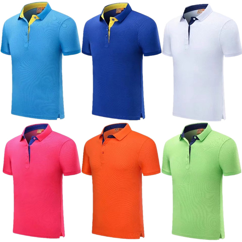 Men badminton sportswear Jerseys Volleyball Golf Table Tennis sportswear POLO shirts breathable dry breathable polo 1918