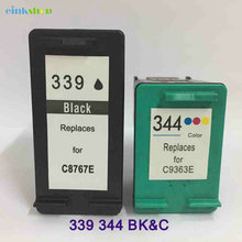 Einkshop compatible ink Cartridge replacement for HP 339 344 Deskjet 460 5740 5745 5940 6520 6620 Photosmart 475 2575 2610 8050 телевизор lg 22lh450v pz черный