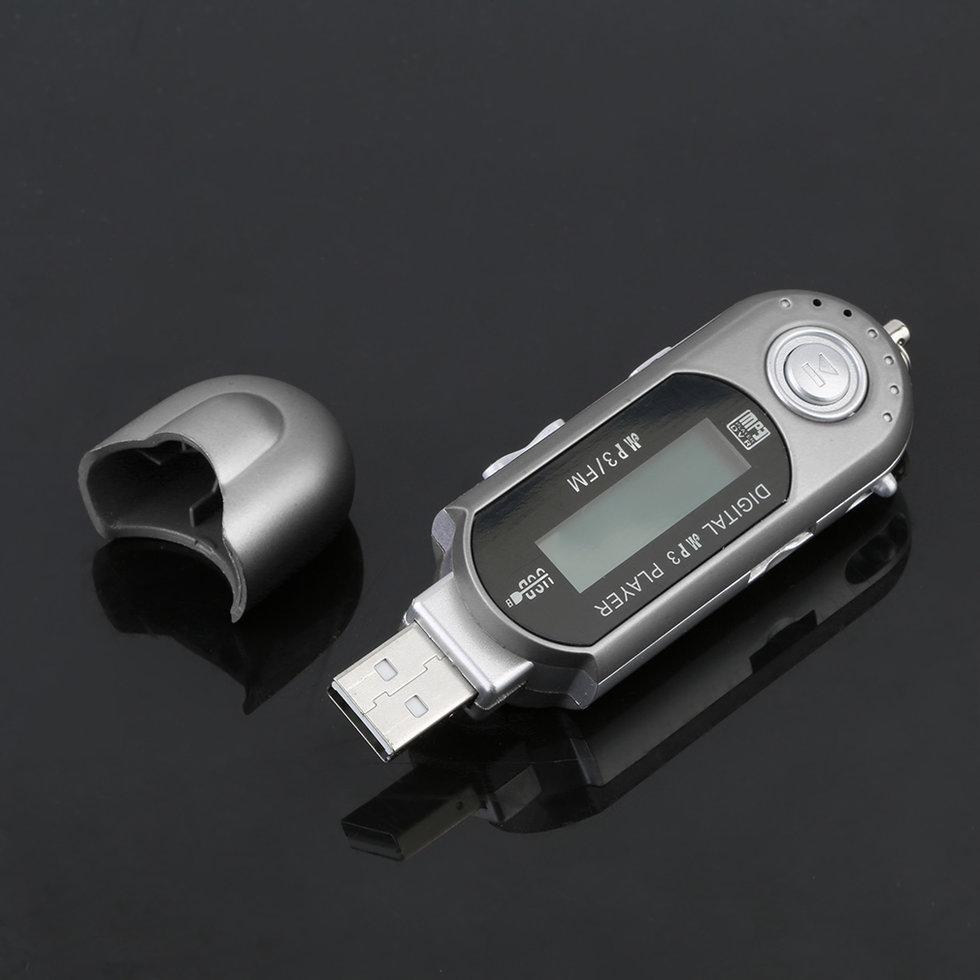 10PCS High Speed Transfer LCD Display Music MP3 Player Mini USB 2.0 Flash Drive MP3 Player mini usb 4gb цифровой аудио диктофон диктофоны flash drive mp3 плеер