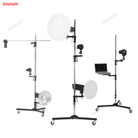 Professional Metal Photo Studio Backdrop Clamp Adapter Flash Light Stand Bracket standard thread CD50 T03 2Y