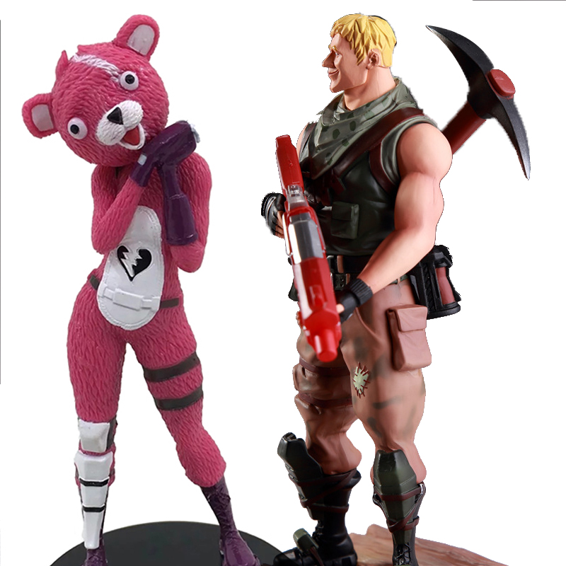 Fortnight Battle Royale Action Figure Children Christmas Gifts FortNight PVC Model Collections Christmas Gift