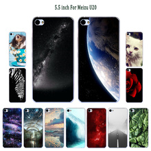 Case For Meizu U20 Cover Sleeping Painte