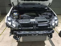 TURBO TWIN INTERCOOLER KIT FOR Volkswagen VW GOLF MK5 MK6 GTI FSI JETTA 2.0T