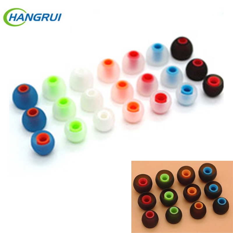 soft Earphone covers 12pcs/6 Pairs replacement Silicone Earbud Tips Earbuds eartips Ear pads cushion for  In-ear earphones