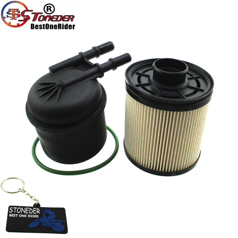 Stoneder дизельное топливо фильтр комплект для 6.7L дизельный FD4615 BC3Z-9N184-B 2011-2013 V8 F250 F350 F450 F550
