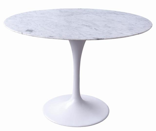 Genial Tulip Dining Table IKEA Minimalist Aluminum Foot Marble Reception Desk To  Discuss The Negotiating Table Fashion