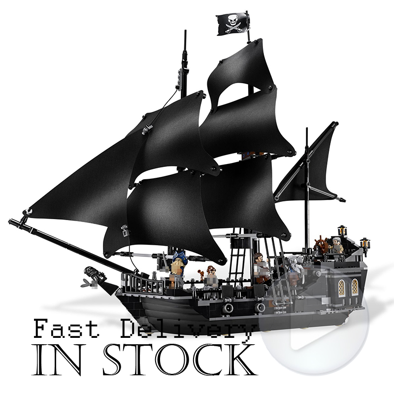 LEPIN The Black Pearl Classic Pirates Ship Movie Building Blocks Bricks Toys For children gifts 804PCS compatIble legoINGly 4184 линолеум ideal start coral 2077 3 5м