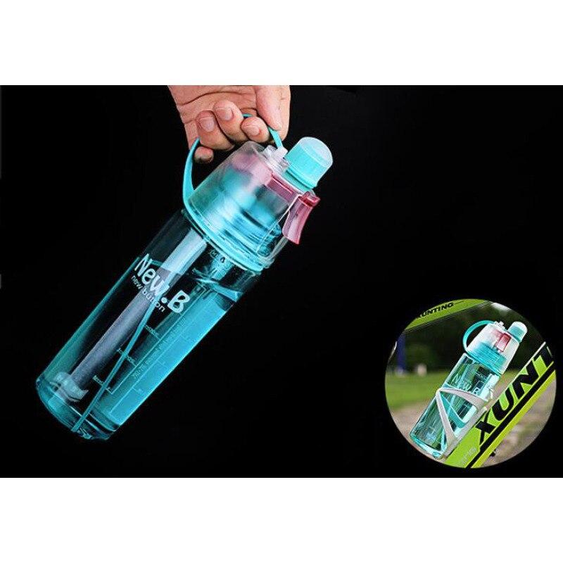 Enfriar botella de spray botella de agua de deportes de verano Al Aire Libre Cam