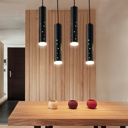 Simple Loft Style Iron Droplight Modern LED Pendant Light Fixtures For Living Dining Room Hanging Lamp Home Lighting fashion guitar led droplight modern lustre crystal pendant light fixtures for living dining room hanging lamp home lighting