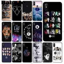 Coque de téléphone Babaite Park Chanyeol EXO Star KPOP EXO LUCKY ONE pour redmi 5 plus 5A 6pro 4X note5A note4x note6pro 6A(China)