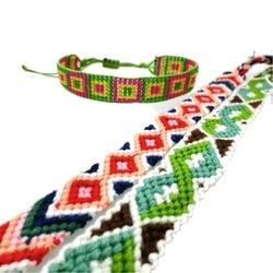 Amiu jewelry bohemian weave cotton seed beads bracelet woven rope string handmade bracelets packing sets 5pcs.jpg 250x250
