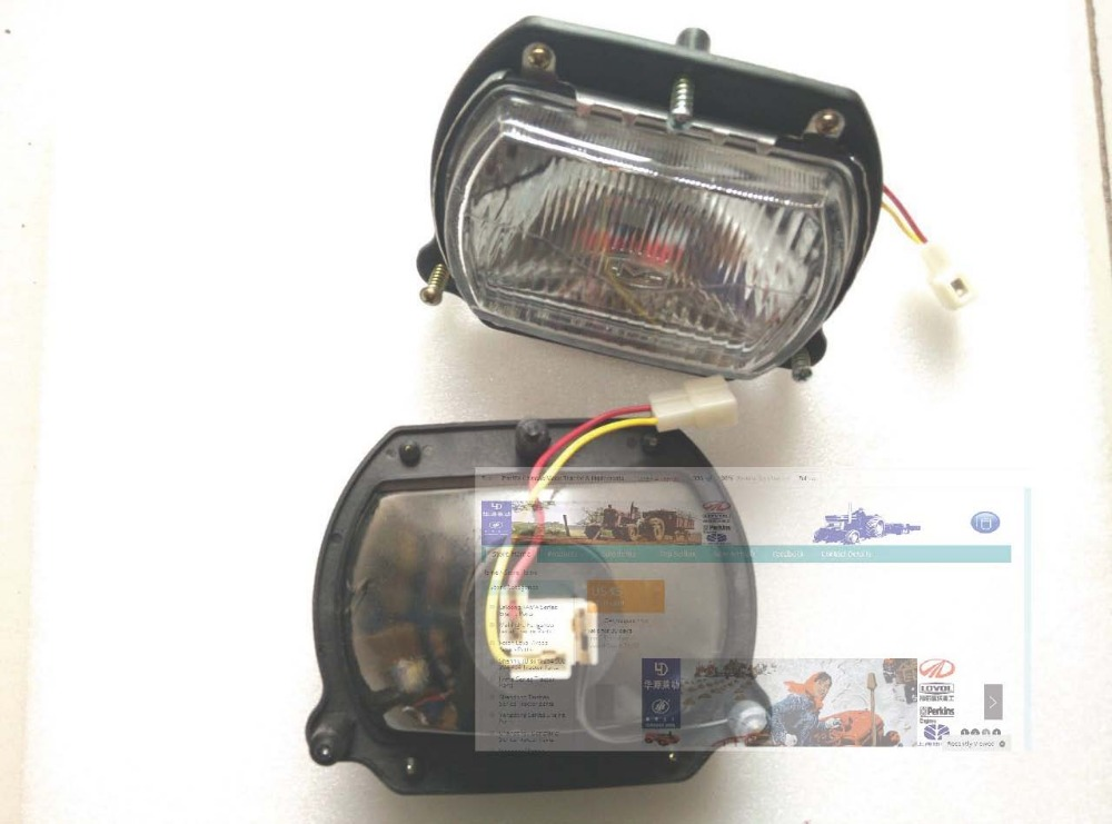 Fengshou Lenar 254 tractor parts, the head lamp, part number: 9480603AAA