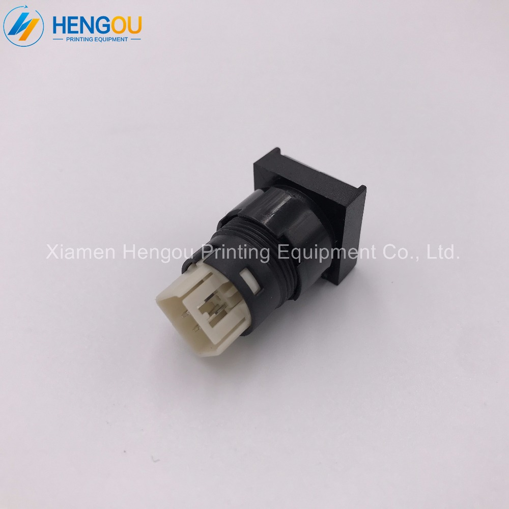10 Pieces Hengoucn SM102 CD102 Machine CPC Computer Fountain Button 81 186 3855 Push Button 81