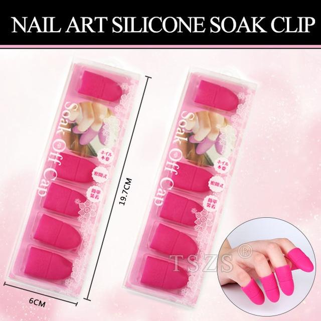 1 Doospartij Nail Art Siliconen Vingertoppen Beschermende Vinger