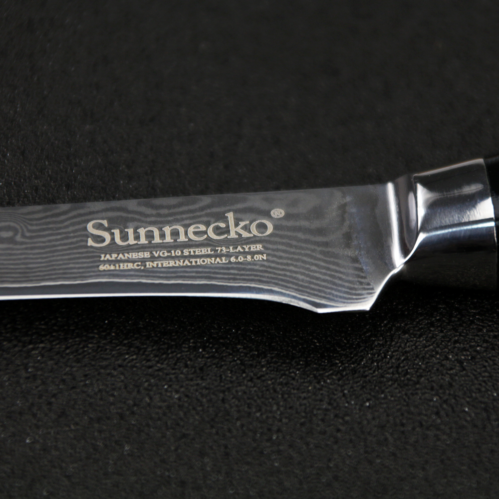 SUNNECKO High Quality 5 5 quot inch Boning Knife Damascus Japanese VG10 Steel Blade Kitchen Knives Micarta Handle Sharp Meat Cutter in Kitchen Knives from Home amp Garden
