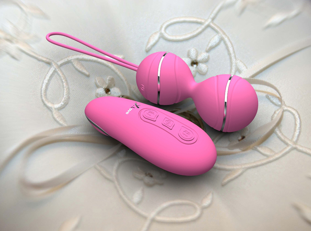 <font><b>Chinese</b></font> Kegel <font><b>Balls</b></font> Vaginal Tight Exercise Vibrating Eggs Wireless Remote Vibrator Ben Wa <font><b>Balls</b></font> <font><b>Sex</b></font> Toys for Woman New Gift image