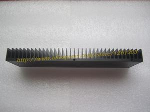 Image 4 - 1pcs 245mm+60mm+25mm Full Aluminum E Heatsink For Power Amplifier DIY Radiator