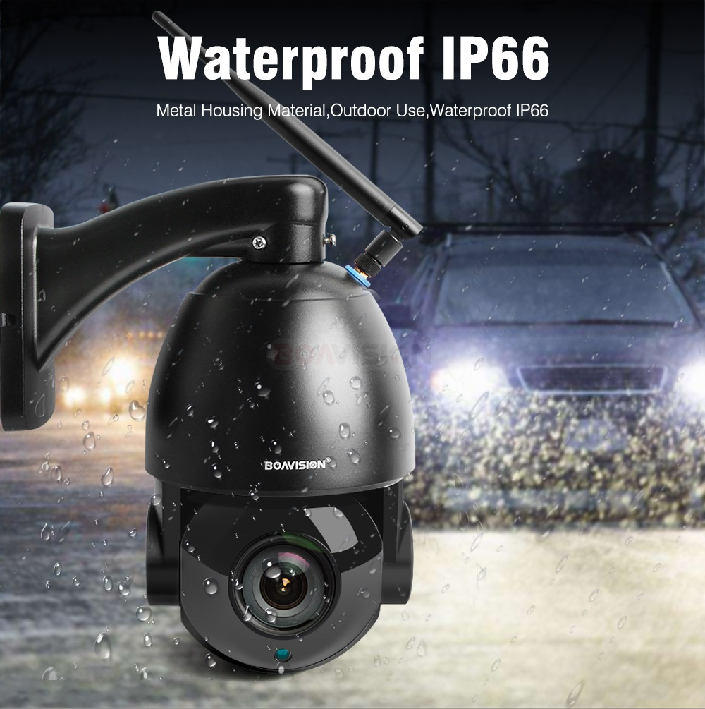 06 Wifi PTZ IP Camera