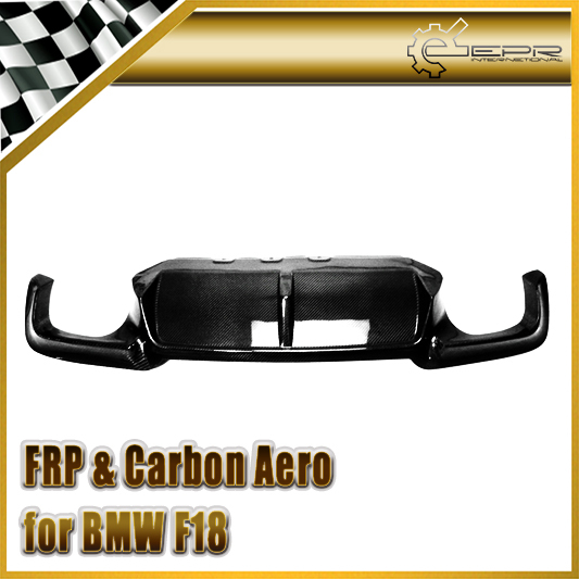 New Racing For BMW F10 F18 5-Series 2010 5 Series 3D Style Cabon Fiber Rear Diffuser