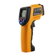 Best price GM320 Non-Contact Laser LCD Display IR Infrared Digital C/F Selection Surface Temperature Thermometer