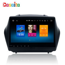 Car 2 din android GPS for Hyundai IX35 2010+ autoradio navigation head unit multimedia 4Gb+32Gb 64bit Android 6.0 PX5 8-Core