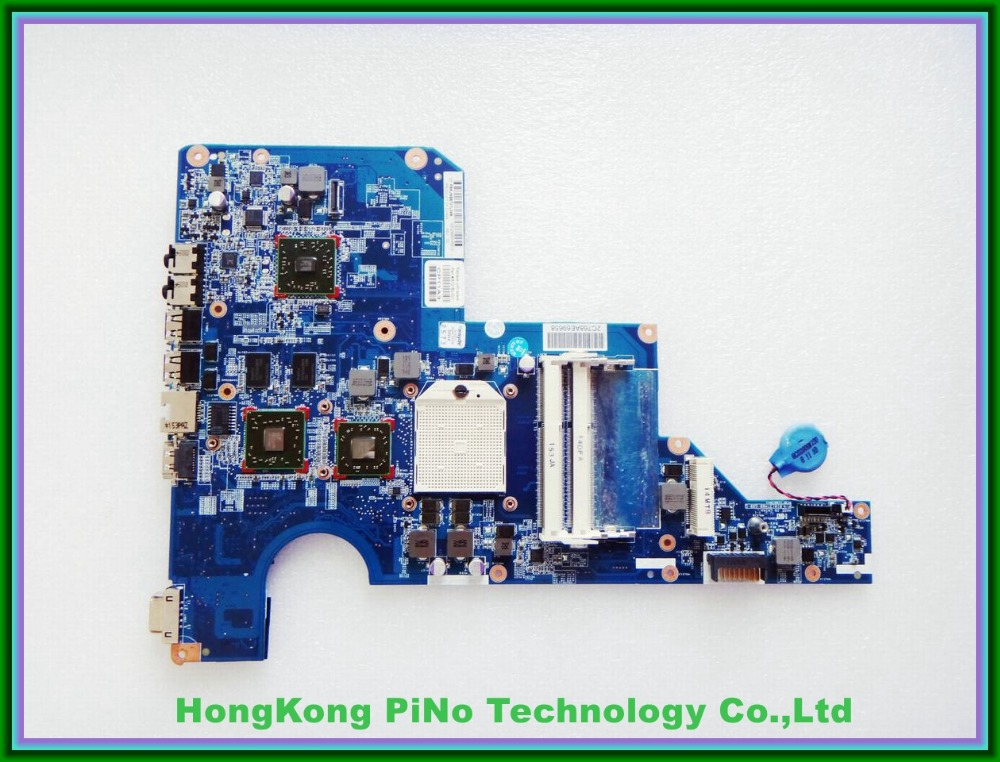 610161-001 610160-001 for HP COMPAQ G62 CQ62 series laptop motherboard Mobility Radeon HD5430 DDR3 100% tested 45 days warranty for hp cq62 g62 610161 001 laptop motherboard for amd cpu with ati hd5430 ddr3 integrated graphics card